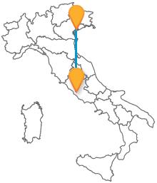 Prendete l'autobus tra Roma e Venezia e risparmiate sul prezzo del biglietto