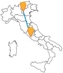 Esplorate due bellissime città viaggiando in autobus da Roma a Verona