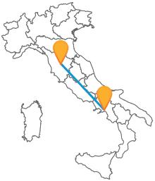 Acquistate ora un biglietto del pullman tra Salerno e Siena