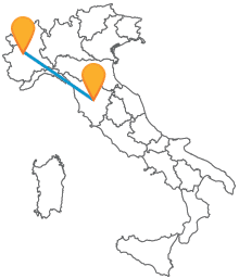 Viaggiate comodamente tra Toscana e Piemonte con un comodo autobus tra Siena e Torino