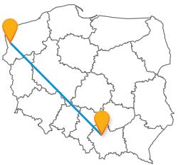 Autobus Krakow Szczecin