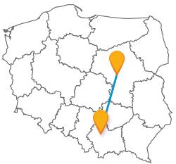 Autobus Krakow Warszawa