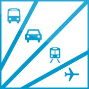 Verkehrsmittelvergleich Grafik
